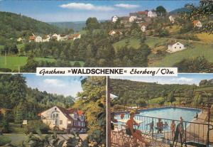 Germany Ebersberg Gasthaus Waldschenke Swimming Pool Multi View