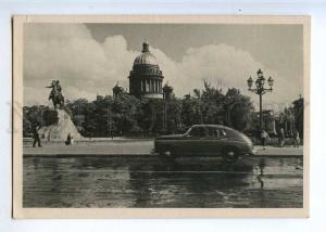 226213 RUSSIA LENINGRAD Decembrists Square LFH 1952 postcard
