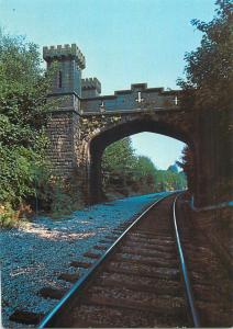 The Bolton to Blackburn Railway train Turton Tower