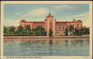 bahamas, NASSAU, The British Colonial Hotel (1951) Stamp