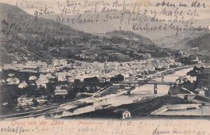 Gruss von der Lahn, Niederlahnstein, PU 1903 Germany