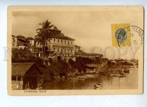 203129 Kenya MOMBASA view Vintage postcard