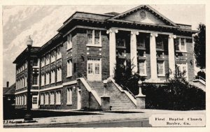 Baxley, Georgia, GA, First Baptist Church, Unused Vintage Postcard g3894
