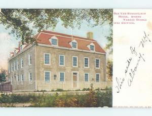 Pre-1907 RENSSELAER HOUSE Albany New York NY A2945