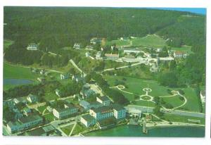 Mackinac Island Michigan Aerial View of Downtown 1961