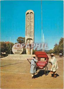 Postcard Modern Madagascar Antsirabe Monument of Idependance
