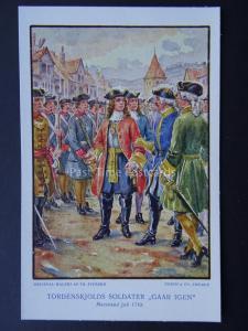 Denmark (1) PETER TORDENSKJOLD Naval Heroe Billeder Fra Hans Liv - Old Postcard