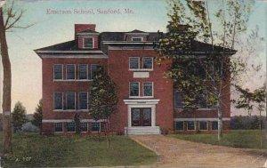 Maine Sanford Emerson School