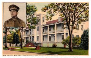 Arkansas  Little Rock ,  Gen. Douglas MacArthur , Old Arsenal Bldg. Birthplace