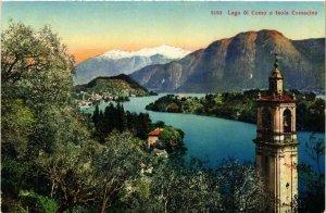 CPA Lago di Como e Isola Comacina . ITALY (541057)