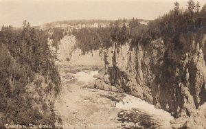RP: Canyon , St John River , Grands Falls , New Brunswick , Canada , 1910s