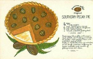 Postcard Gran'ma Gold's Pecan Pie
