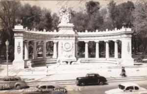 RP: MEXICO CITY, 30-40s; Monument Benito Juarez