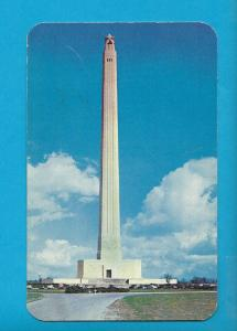 Postcard San Jacinto Monument Gerald Sam Houston Texas   # 674