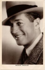 CPA AK Maurice Chevalier FILM STARS (330601)