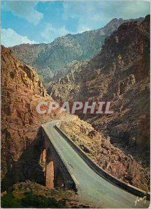 Modern Postcard Corsica Oasis of Beauty The magnificent parade of the Scala S...