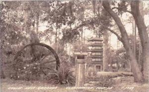 Florida Clearwater Eagles Nest Gardens 1942 Real Photo