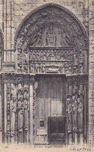 France Chartres Cathedrale Portail Royal 1920
