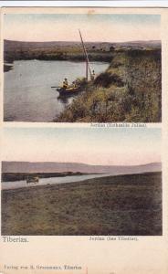 TIBERIAS , Israel , 00-10s; View of Jordan (Bethsaida Julias) & Jordan River