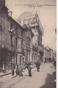 Bordeaux , Gironde department , France , Pre-1914 ; Postes et Telegraphes , B...