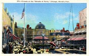 IL - Chicago. 1933 World's Fair. Streets of Paris