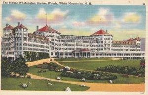 WHITE MOUNTAINS, New Hampshire, 1930-40s; The Mount Washington, Bretton Woods
