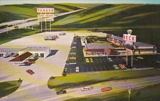 Illinois Geneseo Deck Plaza Texaco truck Stop Motel Coffee Shop Dining Room &...