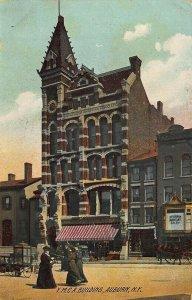 Auburn NY Y. M. C. A. Building Dentist Office Postcard