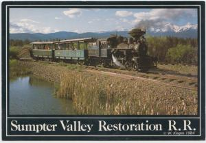 Sumpter Valley restoration Railroad, 1984 unused Postcard