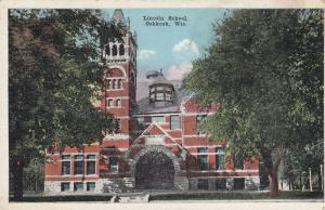 OSHKOSH , Wisconsin, 00-10s ; Lincoln School