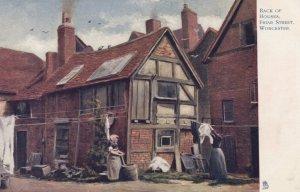 WORCESTER , England ; 00-10s ; Back of Houses , Friar Street ; TUCK