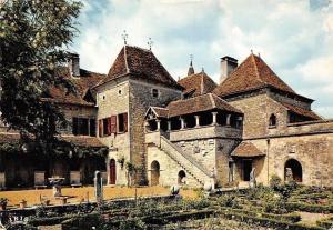 France Loubressac Vieux Manoir Gothique Jardin