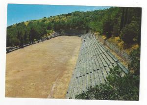 Greece Delphi Stadium Ancient Ruins Vintage 4X6 Postcard