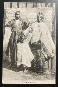 Mint French Africa Real Picture Postcard RPPC Natives Black Types