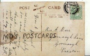 Genealogy Postcard - Marr - Goosnargh Lane - Goosnargh - Preston - Ref 9048A