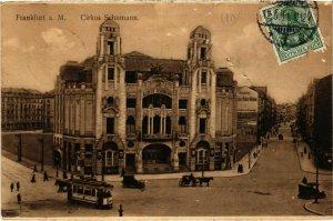 CPA AK Frankfurt a.M.- Circus Albert Schumann Theater GERMANY (1027405)
