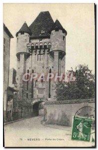 Old Postcard Nevers Porte du Croux
