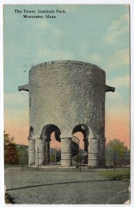 Worcester, Mass, The Tower Institute Park