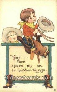 Artist Wall, Bernhardt Postcard Post Card Old Vintage Antique unused
