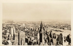 RP: NEW YORK CITY , 1930-40s ; Vista view
