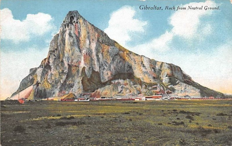 Rock from Neutral Ground Gibraltar Unused