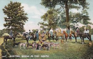 Arkansas Pine Bluff Hunting Scene In The South 1908