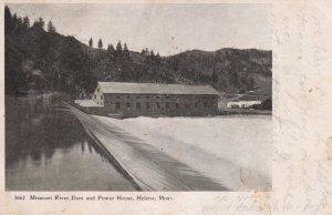 Missouri River Dam & Power House, HELENA , Montana, PU-1907