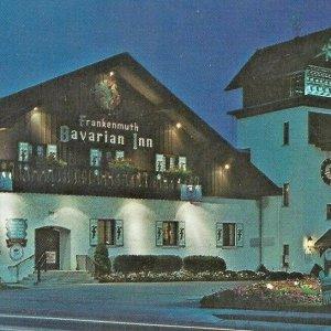 Frankenmuth Bavarian Inn 1973 Chicken dinner I-75 Expressway Flint Birch Run