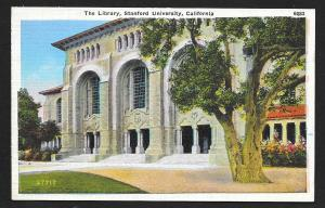 Stanford University Library Palo Alto CA Unused c1920s
