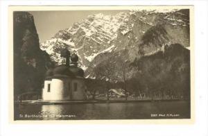RP, St. Bartholoma mit Watzmann, Bavaria, Germany, 1920-1940s