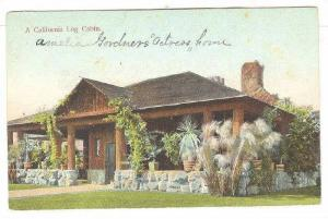 A California Log Cabin, 00-10s