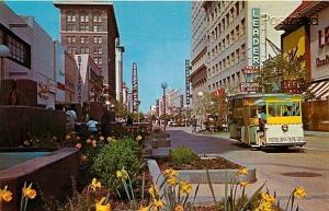 CA, Fresno, California, Fresno Mall, Tram, Dexter Press No. 99183-B