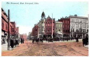 Illinois  Liverpool The Diamond East , Hand Colored