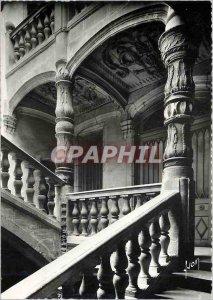 Modern Postcard Perigueux (Dordogne) Renaissance Staircase Street wisdom